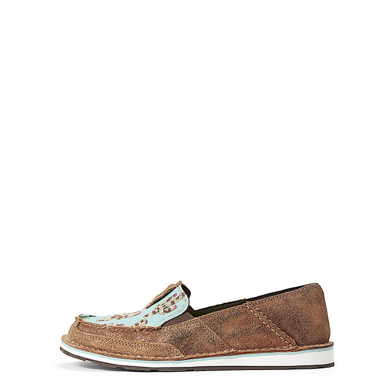 Ariat Womens Cruiser Metallic Bronze/Leopard Cactus