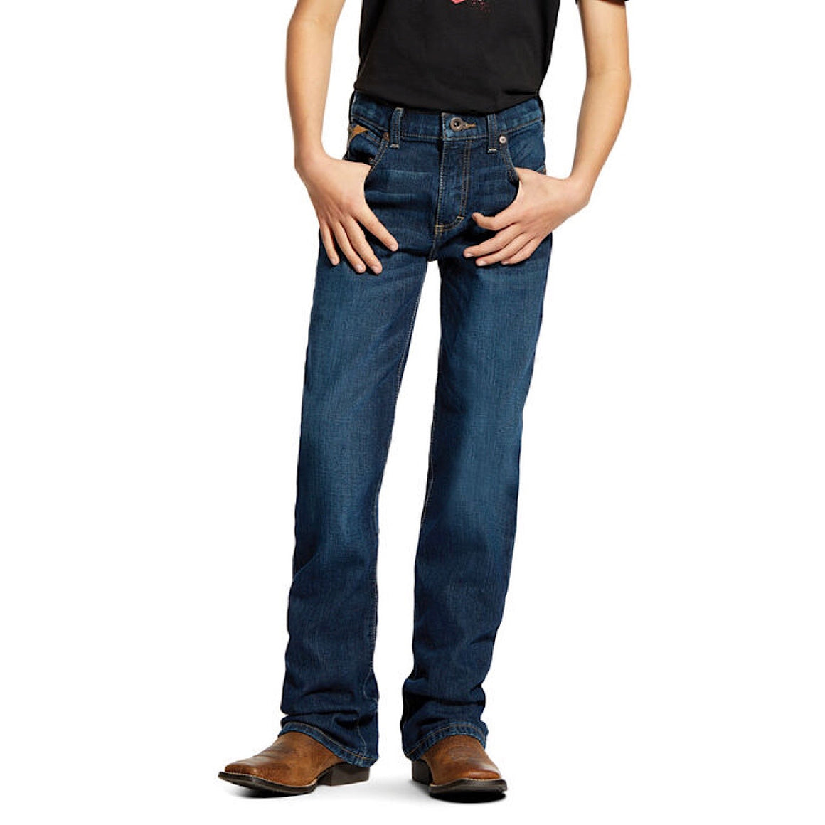 Ariat Boys B4 Relaxed Stretch Legacy Boot Cut Jean Chief