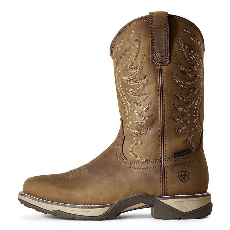 Ariat Womens Heritage Anthem H20 Distressed Brown