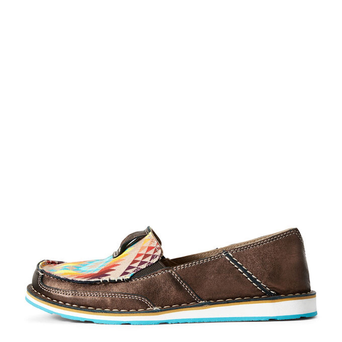 Ariat Womens Cruiser Copper Metallic/Rainbow Aztec