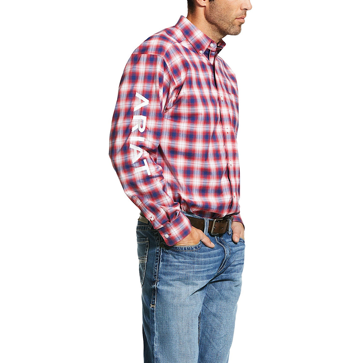 Ariat Mens Pro Series Caleb Classic Fit Shirt Multi