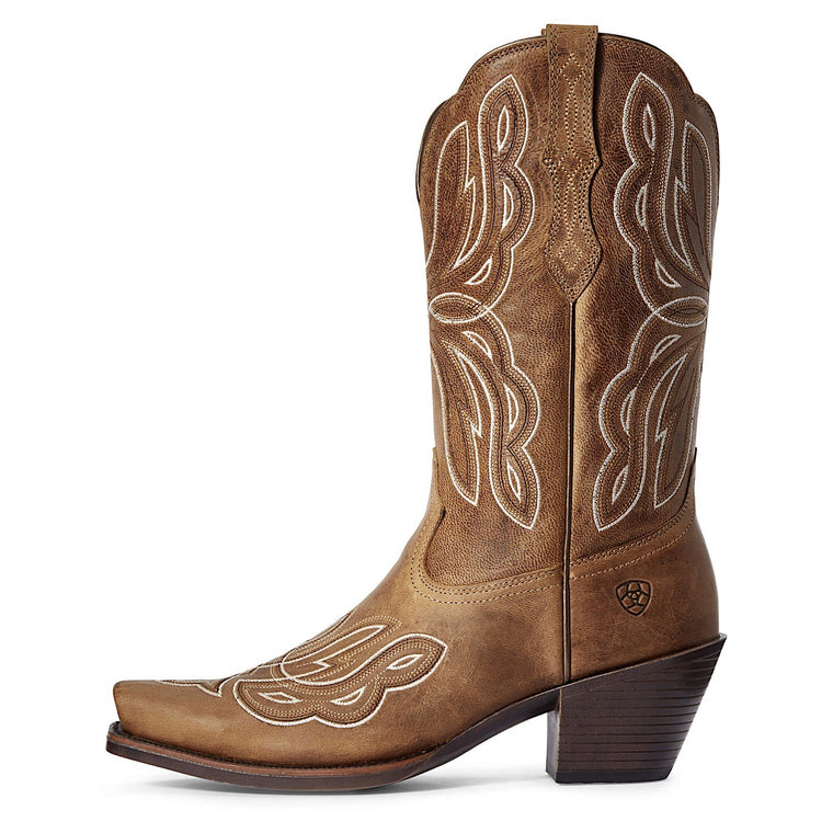 Ariat Women's Mirabelle Western Boot Russet Honey Tan