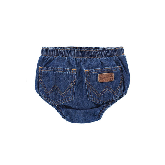 Wrangler Infant Diaper Cover Washed Indigo