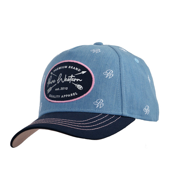 Pure Western Womens Pixie Cap Denim