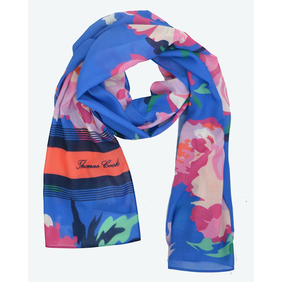 Thomas Cook Womens Everyday TC Print Scarf Floral