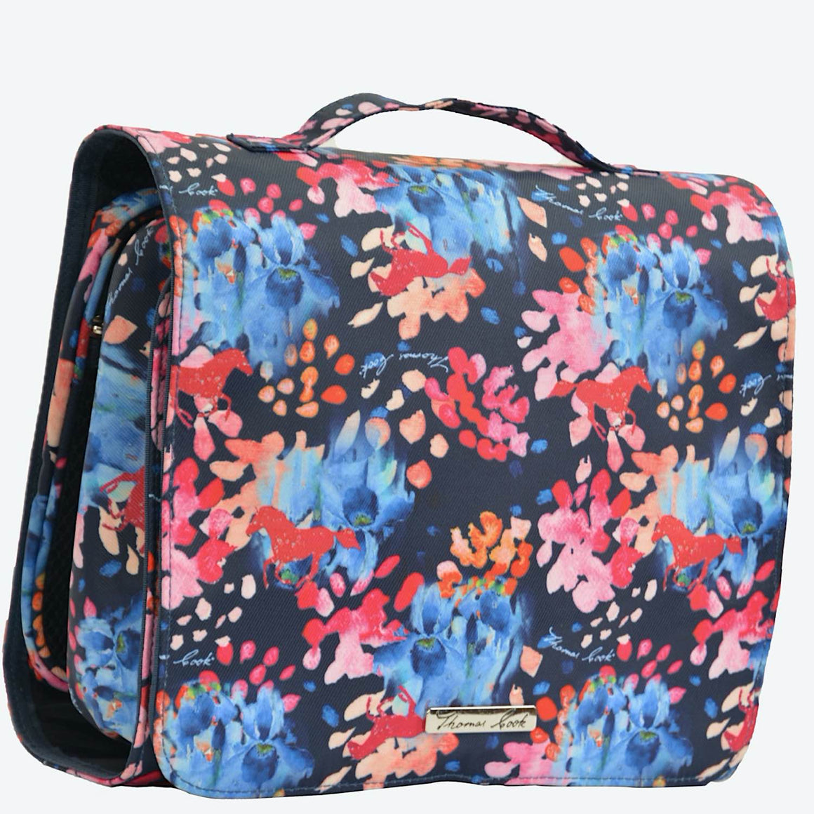 Thomas Cook TC Fold-Out Cosmetic Bag With Hook Floral T0S2948COS