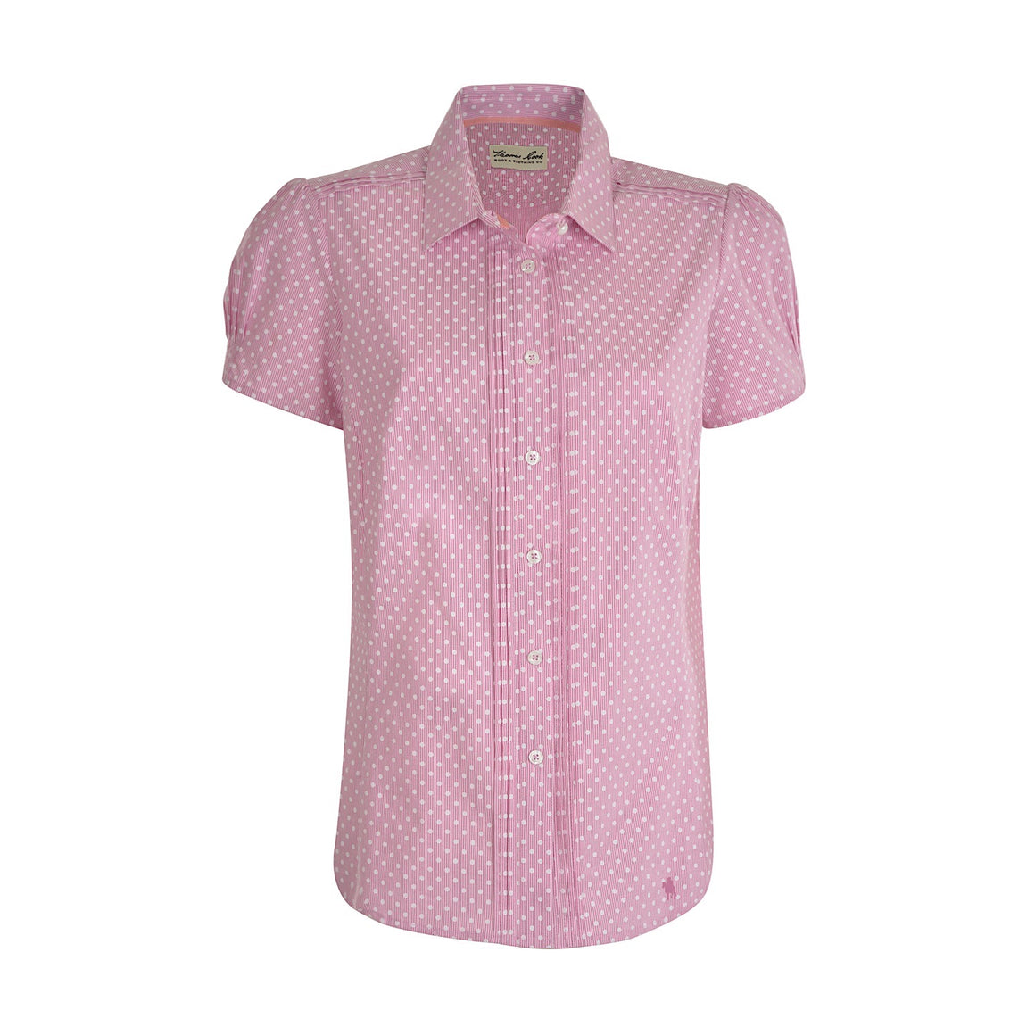Thomas Cook Women's Cooma S/S Shirt Pink/Orchid