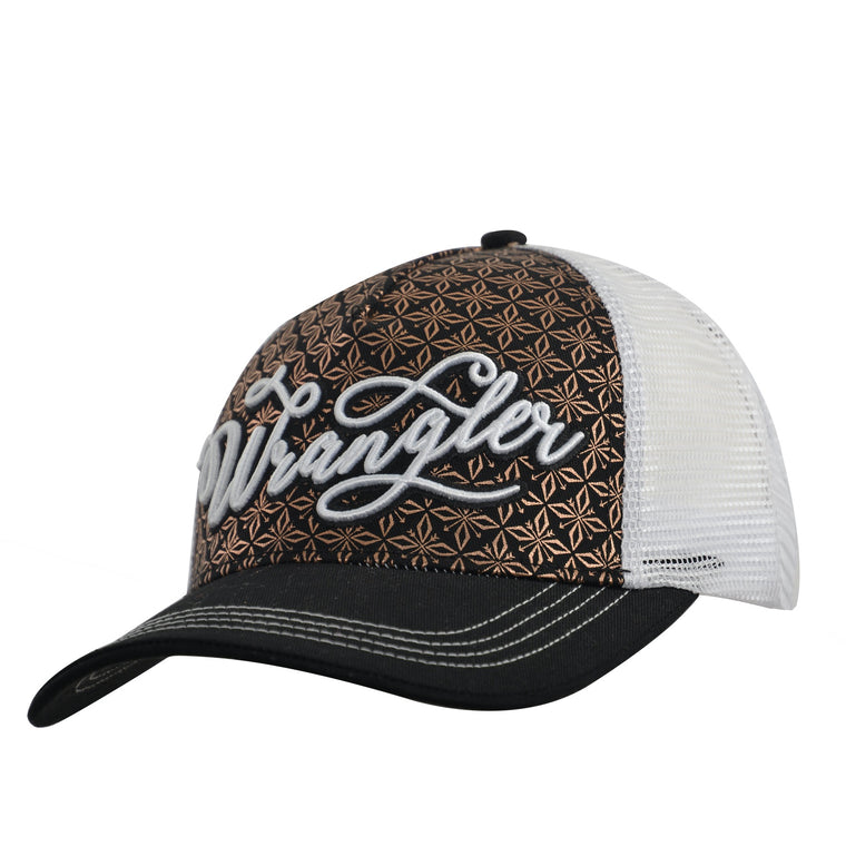 Wrangler Womens Kyra Cap Black/White