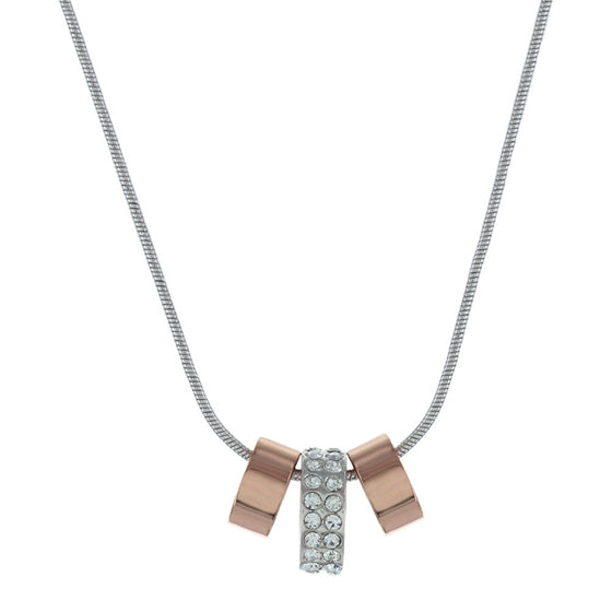 Rose Gold and Shine Necklace