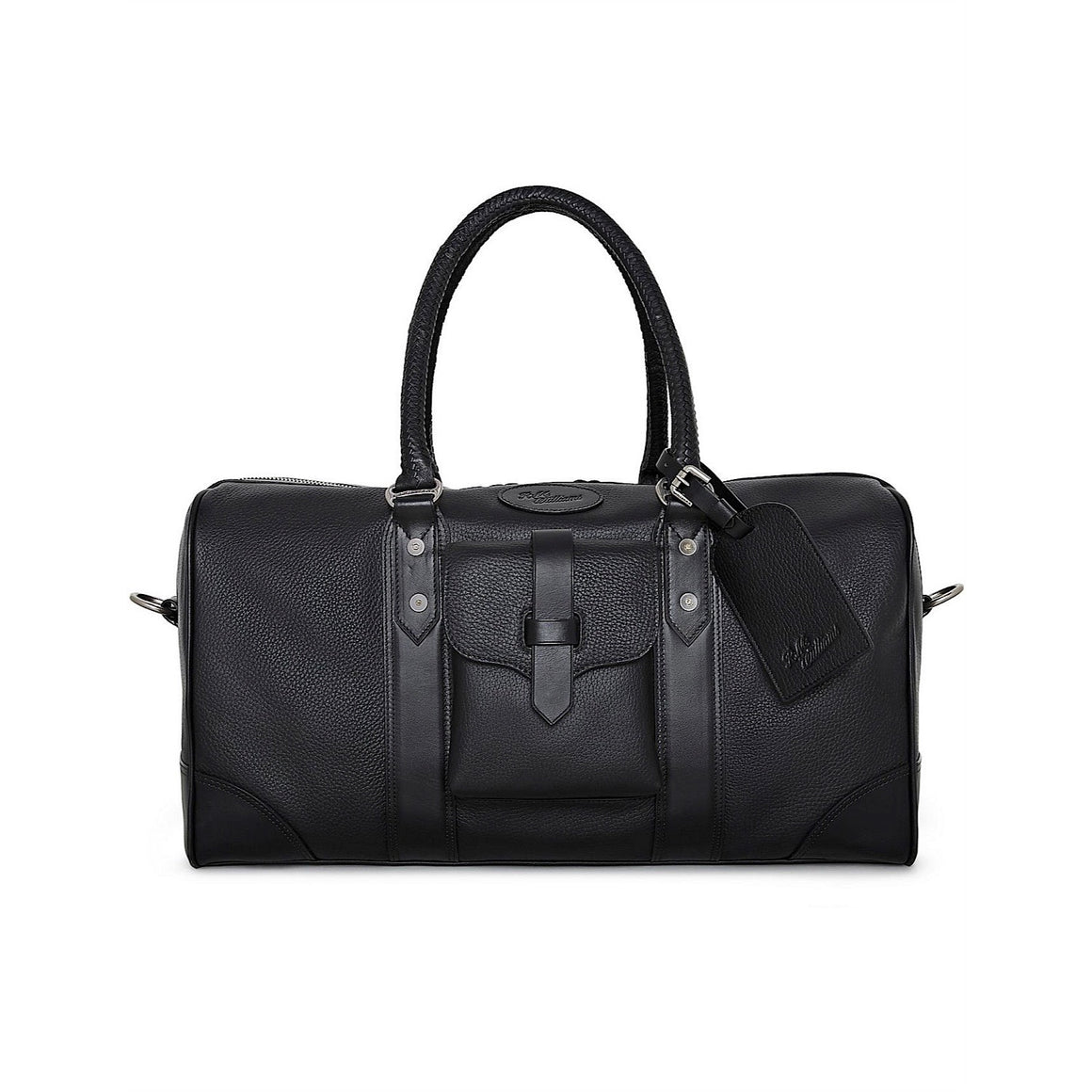 R.M.Williams Signature Overnight Bag Black