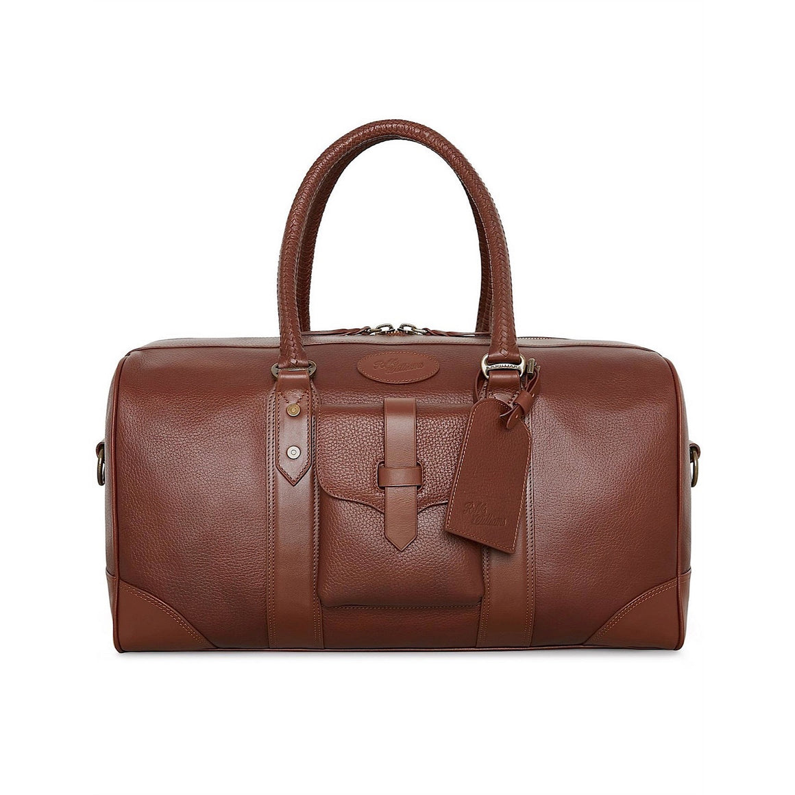 R.M.Williams Signature Overnight Bag Whiskey