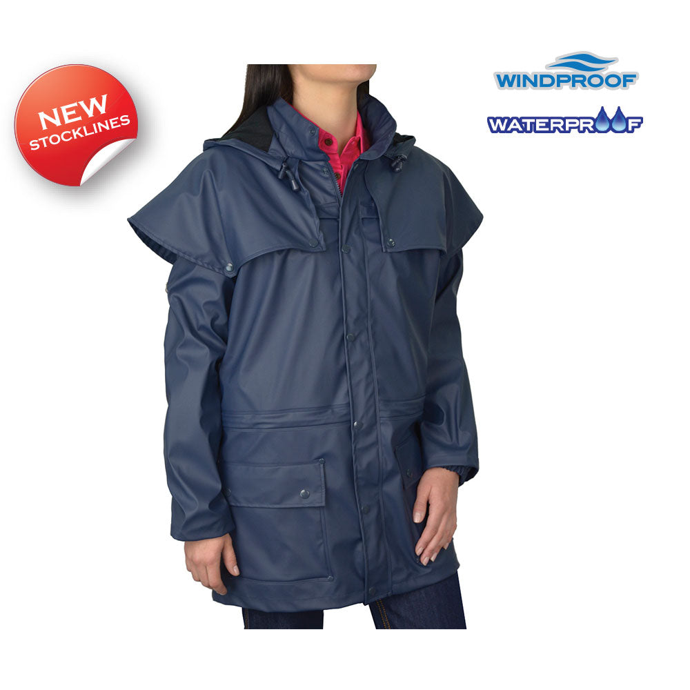 Thomas Cook Pioneer Short Raincoat Navy