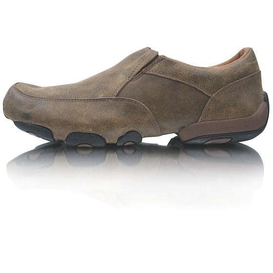 Twisted X Mens Cowboy Casual Driving Mocs Slip On Bomber