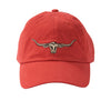 R.M.Williams Longhorn Cap Red ^