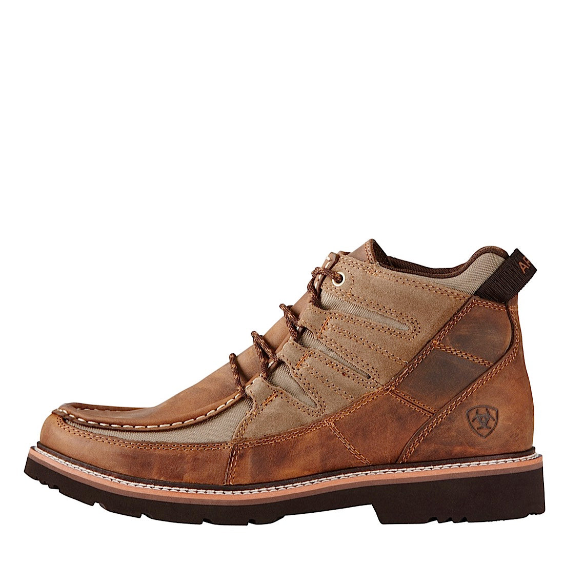Ariat Mens Exhibitor Distressed Brown