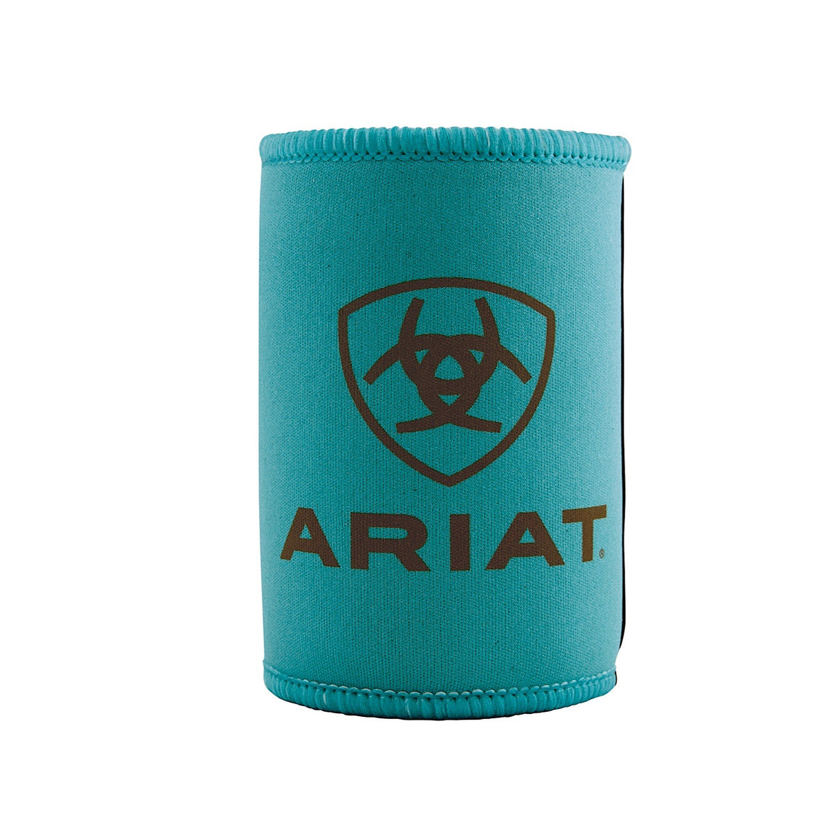 Ariat Stubby Cooler Turquoise/Brown