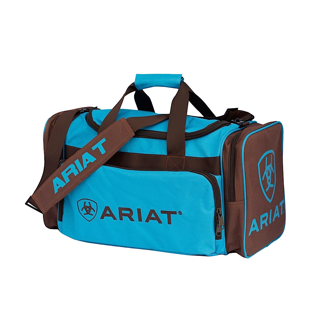 Ariat Junior Gear Bag Turquoise/Brown 4-500TQ