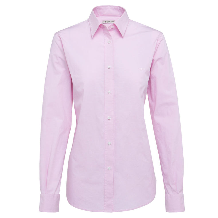 R.M Williams Nicole Shirt Pink Reg Fit