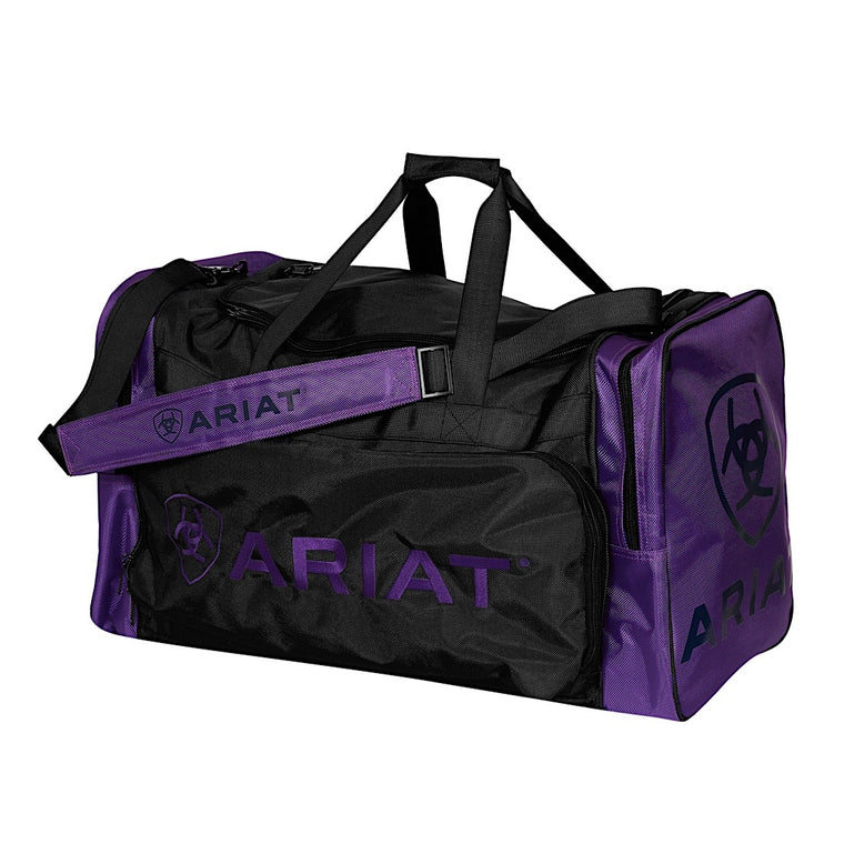 Ariat Junior Gear Bag Purple/Black