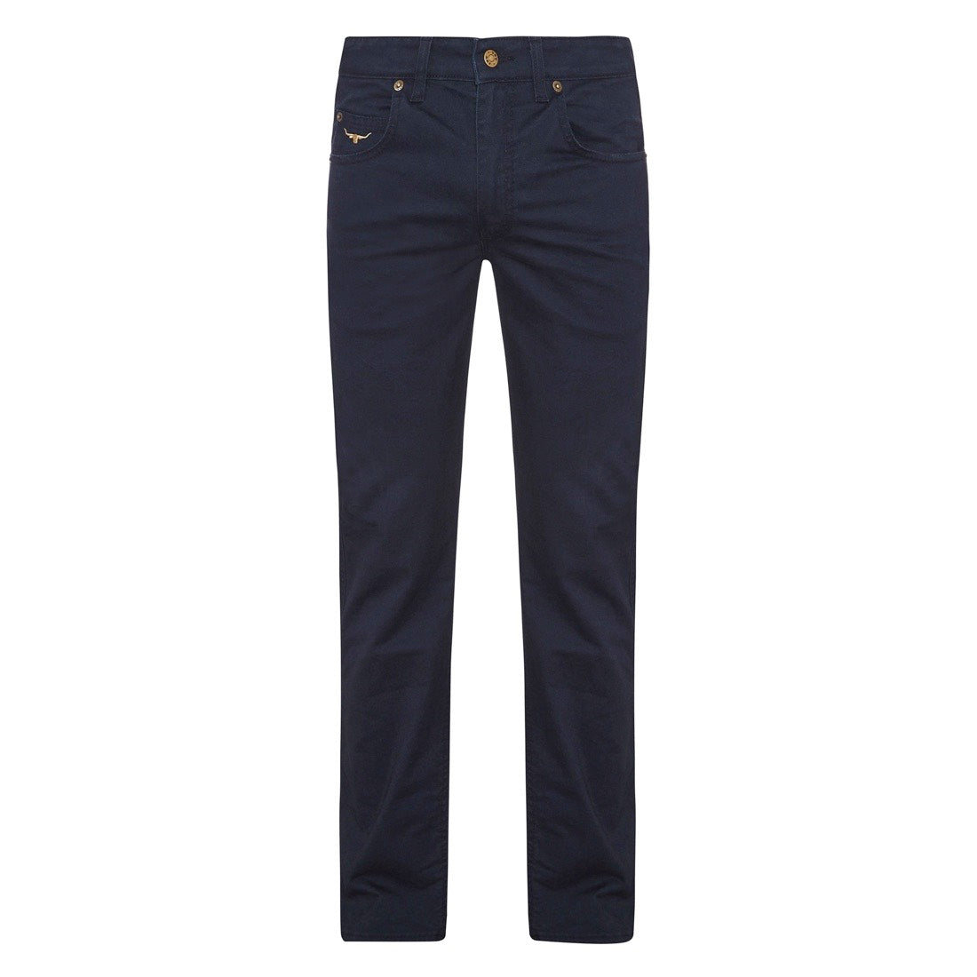 R.M.Williams Linesman 10oz Stretch Drill Jeans Slim Fit Navy