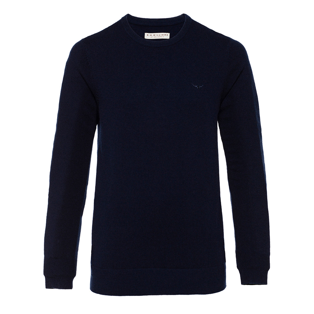 R.M.Williams Howe Sweater Navy