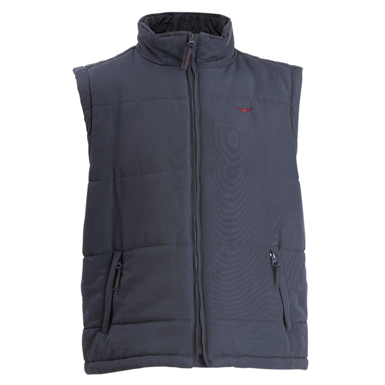 R.M.Williams Patterson Creek Vest Navy Regular Fit