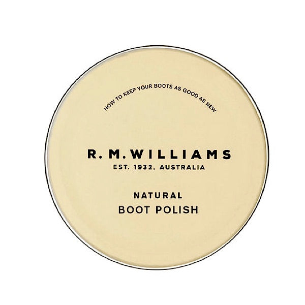 R.M.Williams Stockmans Boot Polish Natural