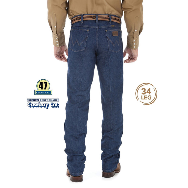 Wrangler Mens New Cowboy Cut Premium Performance Jean