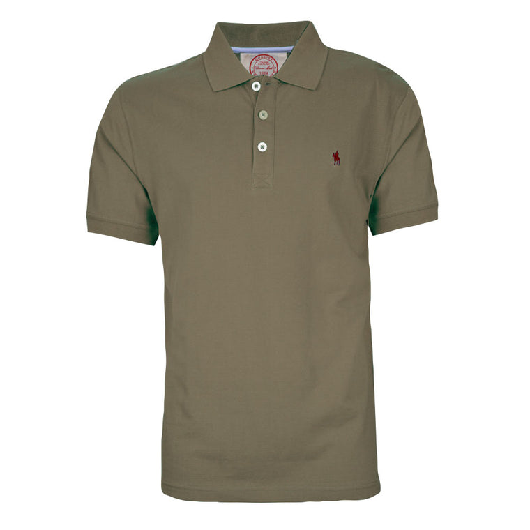 Thomas Cook Mens Tailored Polo Mulch