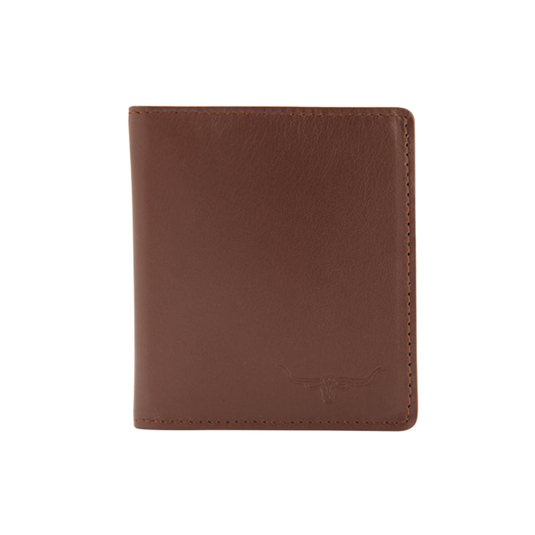 R.M.Williams Kangaroo Leather Brown Trifold-Wallet