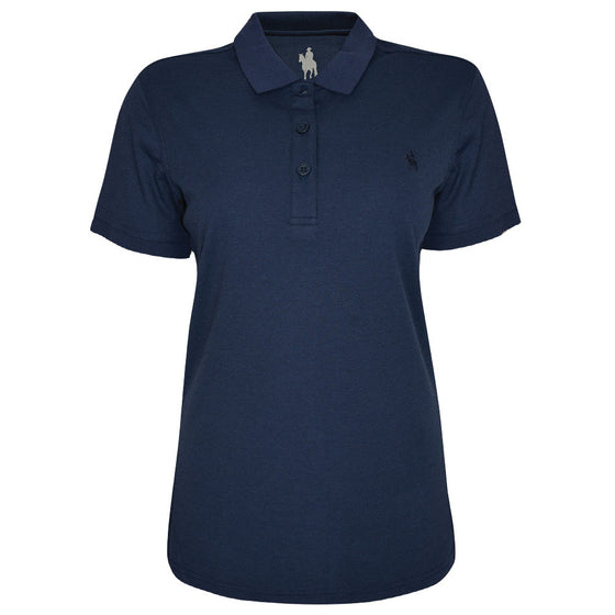 Thomas Cook Womens Bamboo Polo Navy