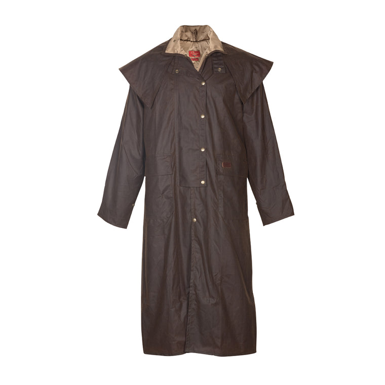 R.M.Williams Full Length Oilskin Droughtbreaker Coat