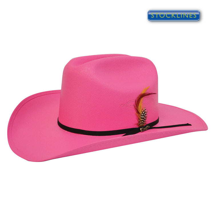 Wrangler Kids Dallas Hat Fuschia
