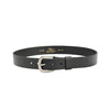 "R.M.Williams Black 1 1/2"" Traditional Belt Black"