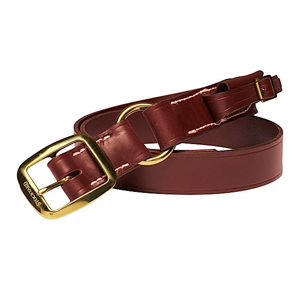 "Stockyard 1"" 1/2"" Single Ring belt with Knife Pouch"