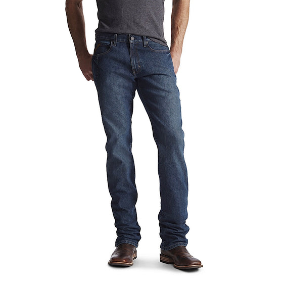 Ariat Mens Rebar Fashion M4 Low Rise Boot Cut Jean Carbine *