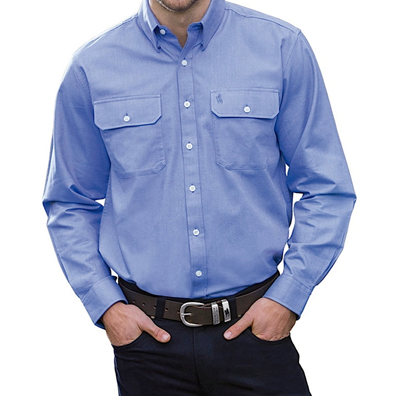 Thomas Cook Mens Classic Oxford 2 Pocket Shirt