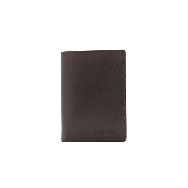 R.M.Williams Yearling Leather Chestnut Small Trifold-Wallet CG436.41