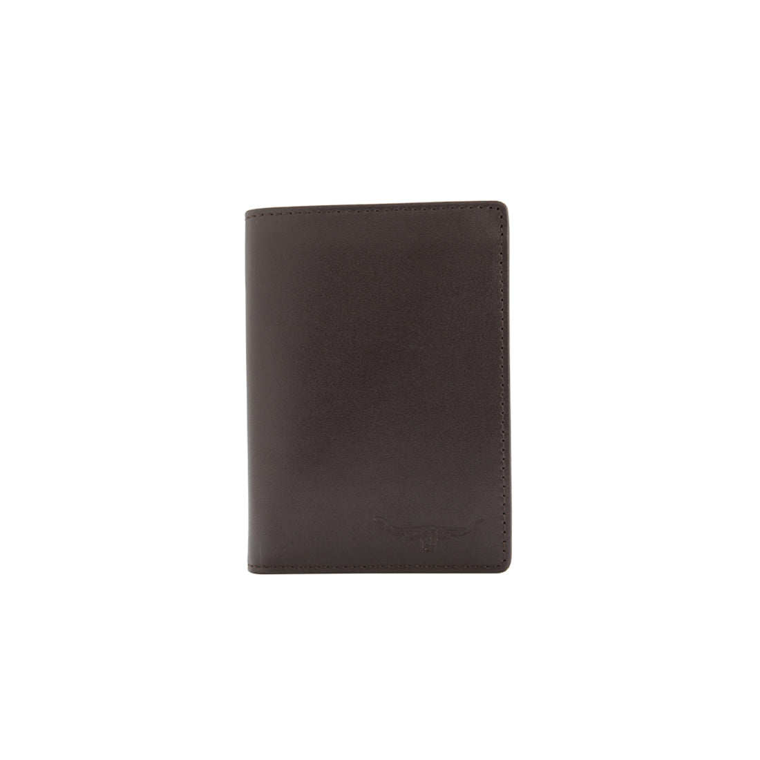 R.M.Williams Yearling Leather Chestnut Small Trifold-Wallet