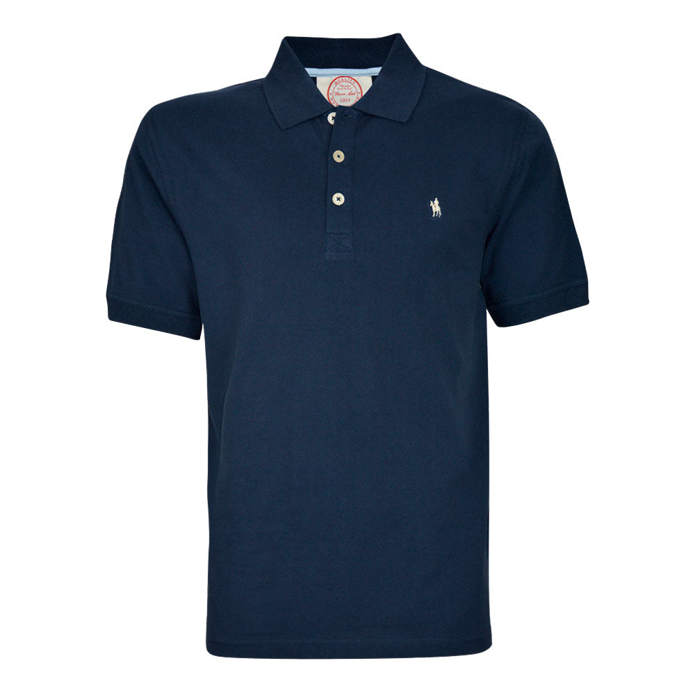 Thomas Cook Mens Tailored Polo Dark Navy