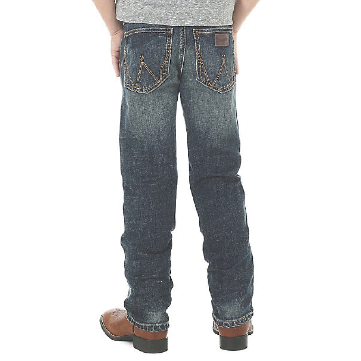 Wrangler Boys Junior Retro Slim Straight Jean Bozeman 88JWZBZREG