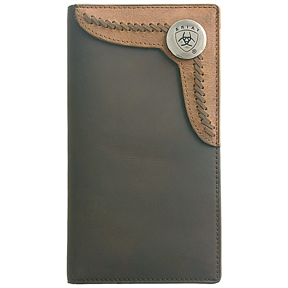 Rodeo Wallet- Brown / Lite Tan