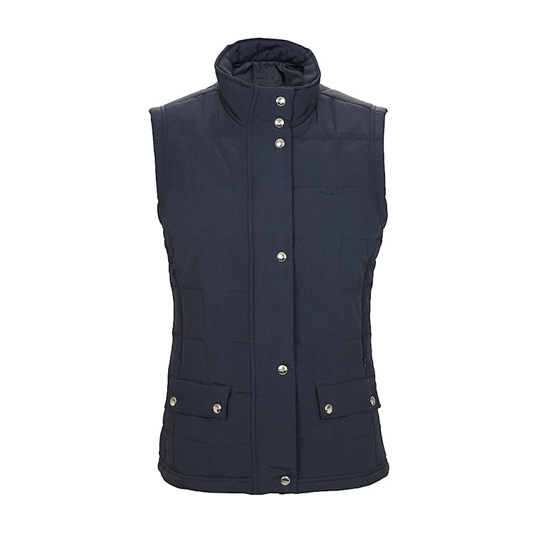 R.M Williams Wilpena Creek Vest Navy