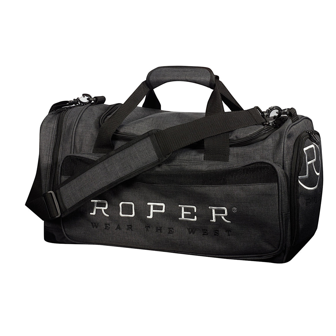 Roper Sports Duffle Gear Bag Grey