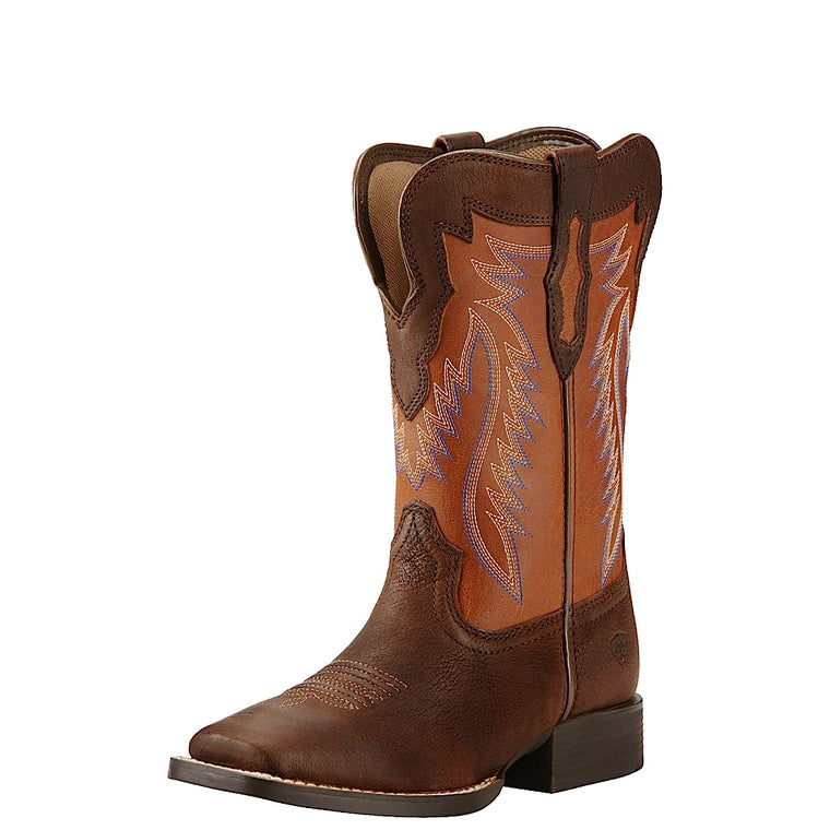 Ariat Kids Buscadero Cinch Brown/Sorrel