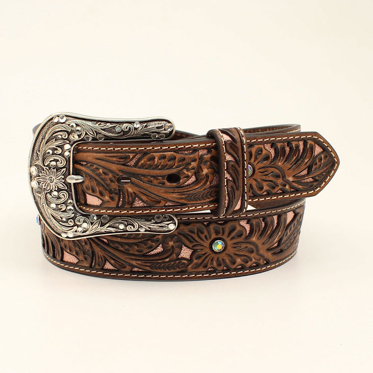 Ariat Womens Western Belt Pink