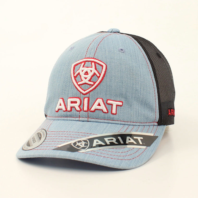 Ariat Mesh Cap Light Blue