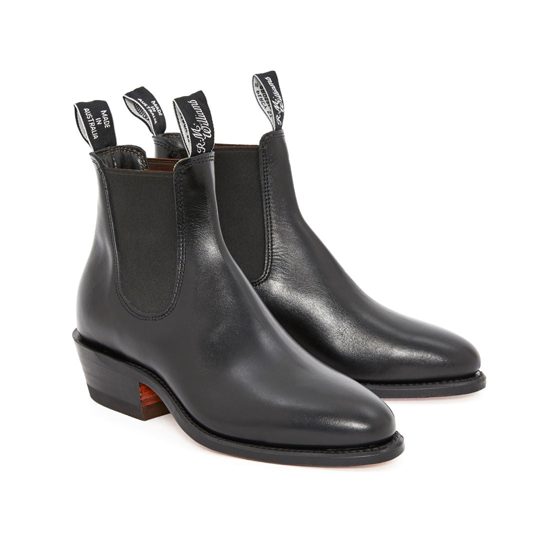 Lady Yearling Boots Black