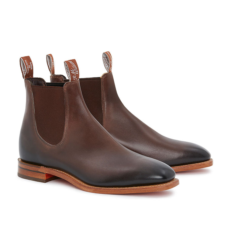 R.M.Williams Chinchilla Boot Bordeaux