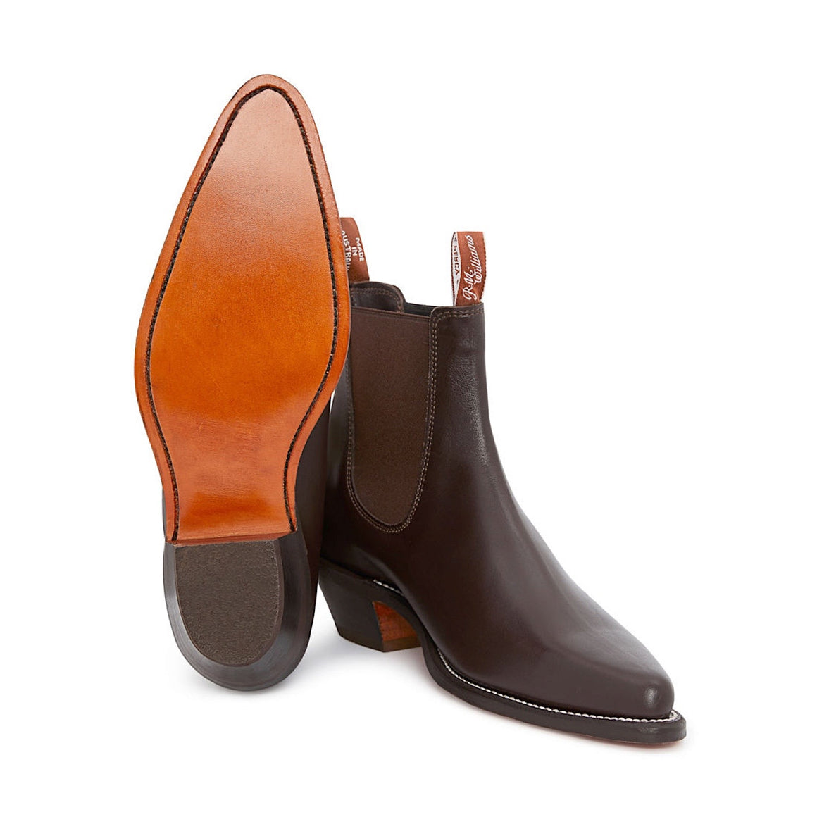 R.M.Williams Millicent Boots Chestnut